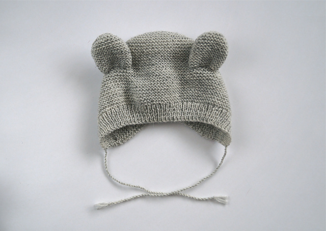 Pure Stitches Bearly Bonnet