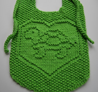 Turtle Love Baby Bib