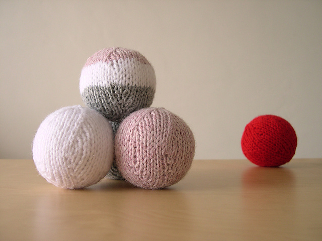 Oh Balls! Toy knitting pattern